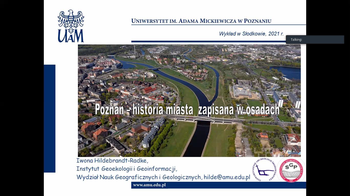 Lekcja geografii dla klasy V w ramach współpracy szkoły z UAM w Poznaniu, Instytutem Geoekologii i Geoinformacji na Wydziale Nauk Geograficznych i Geologicznych.