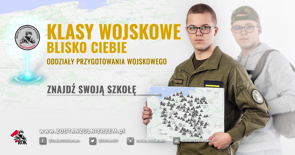 Klasa wojskowa? Prawie 200 ofert w całej Polsce.