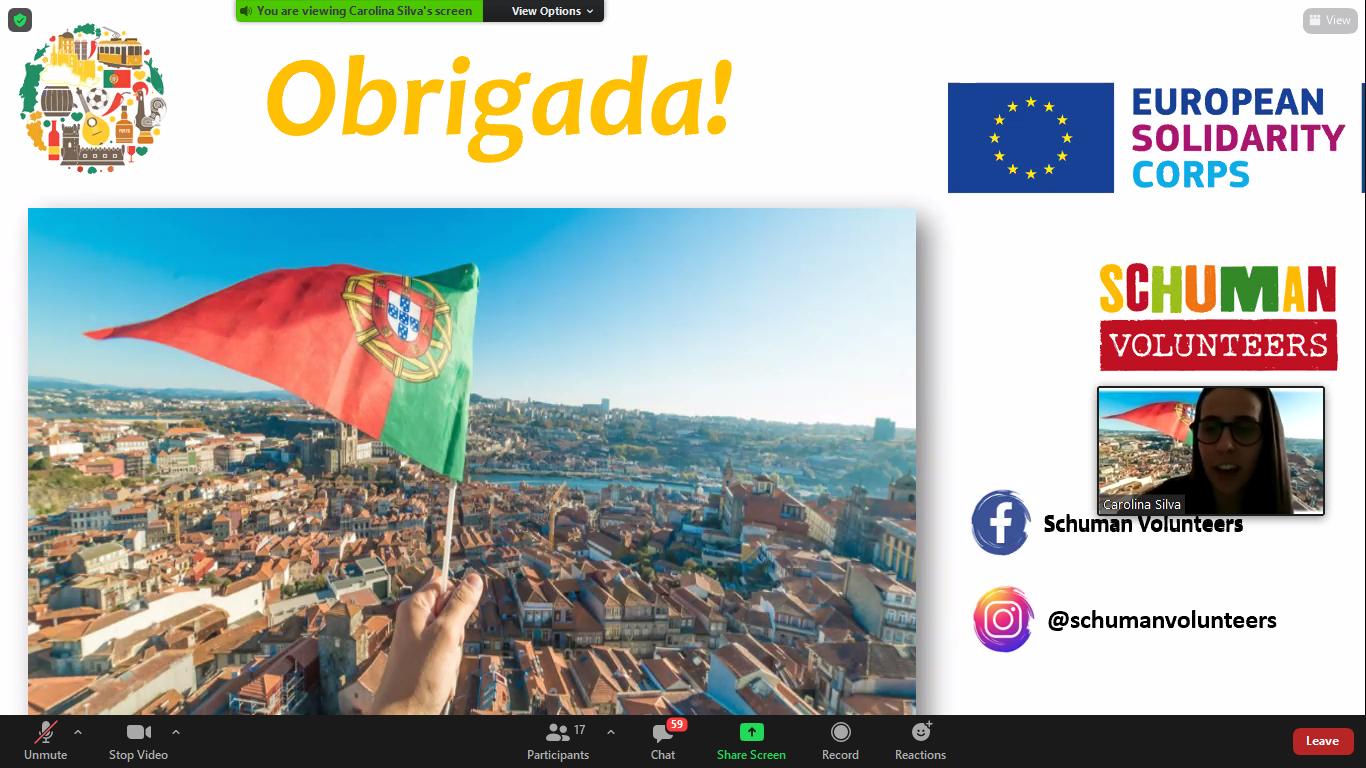 Spotkanie z wolontariuszami z Serbii oraz Portugalii – zajęcia w ramach SKE