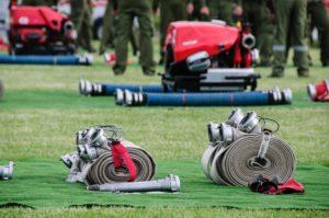 Zawody młodzieżowych drużyn pożarniczych według regulaminu CTIF.