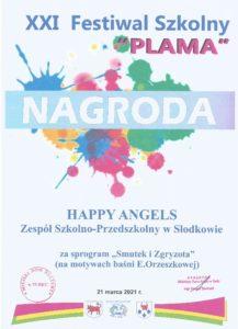 XXI Festiwal Szkolny PLAMA