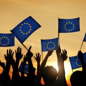 Integracyjne międzyszkolne spotkanie online w ramach obchodów Dnia Europy.