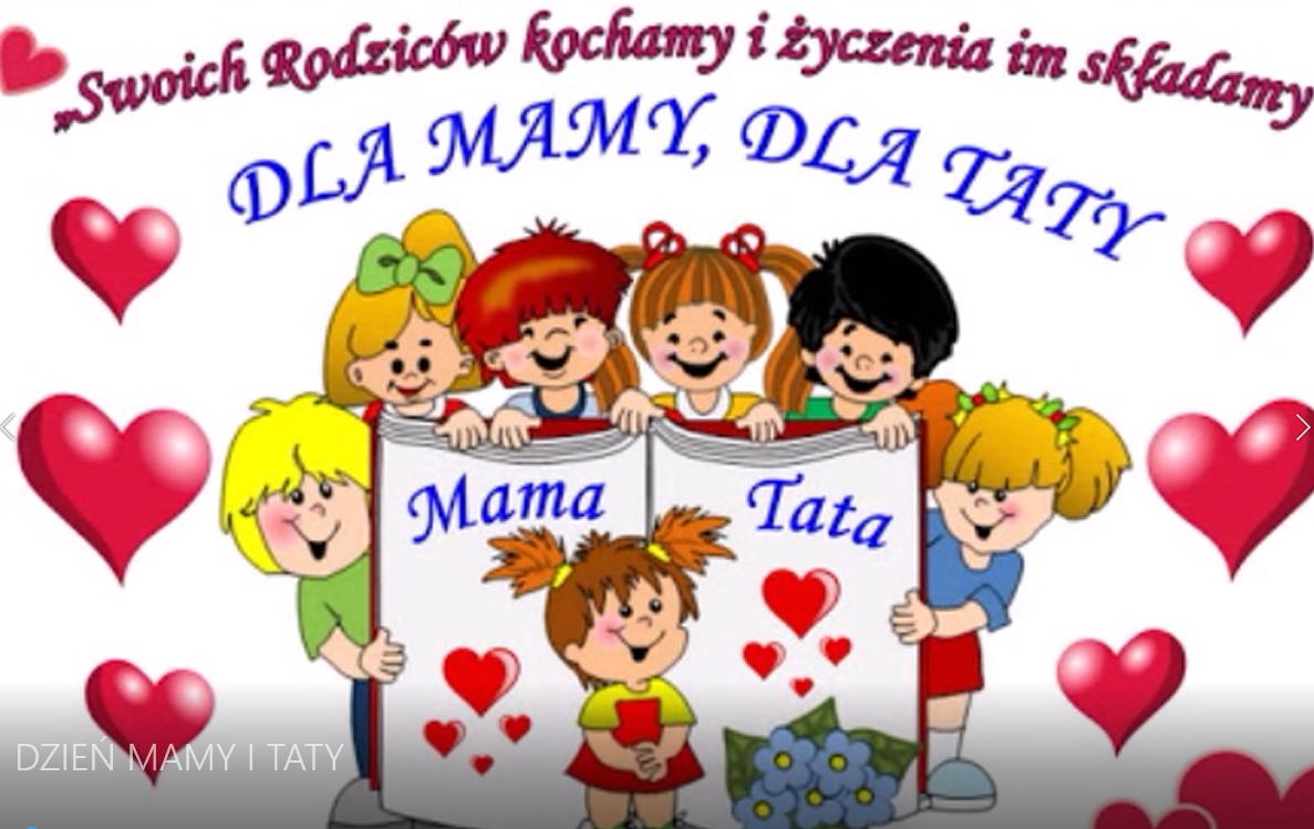 DZIEŃ MAMY I TATY